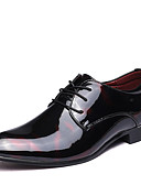 cheap Men's Tees & Tank Tops-Men's Formal Shoes Microfiber Spring / Fall Oxfords Walking Shoes Black / Red / Blue / Wedding / Party & Evening / Printed Oxfords