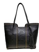 cheap Men's Ties & Bow Ties-Women's Bags PU Shoulder Bag Zipper Black / Gray / Brown