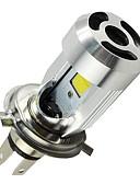 Χαμηλού Κόστους Πέπλα Γάμου-H4 Μοτοσυκλέτα Λάμπες 20W COB 2000lm LED Προβολέας Κεφαλής
