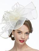 baratos Vestidos de Mulher-Rede Fascinadores / Chapéus / Véus de Birdcage com 1 Casamento / Ocasião Especial Capacete