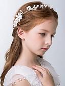 preiswerte Kleider für die Blumenmädchen-Mädchen Haarzubehör Ganzjährig Aleación Silber Rote