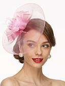baratos Vestidos de Noite-Rede Fascinadores / Chapéus / Decoração de Cabelo com Floral 1pç Casamento / Ocasião Especial Capacete