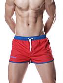 cheap Men's Swimwear-Men's Bottoms - Color Block Swim Trunk