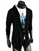 cheap Men's Sweaters & Cardigans-Men's Weekend Active Long Cardigan - Solid V Neck