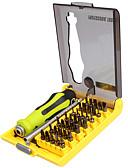 billige Dametopper-Best-8914 presisjon 37 i 1 multifunksjonell skrutrekker magnetisk bitskrutrekker sett for xbox mobil åpning verktøy kit