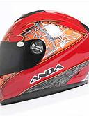 abordables Cinturones de hombres-Integral Adultos Unisex Casco de la motocicleta Deportes / Moldeado al Cuerpo / Compacto