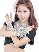 hesapli Dans Aksesuarları-Göbek Dansı Mücevher Kadın's Performans Polyester Bileklikler