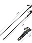 cheap Men's Shirts-5 Sections Trekking Poles / Nordic Walking Poles / Multifunction Walking Poles 135cm (53 Inches) Damping / Adjustable Length / Easy Lock