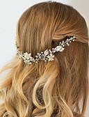 preiswerte Abendkleider-Strass / Aleación Stirnbänder / Kopfbedeckung / Kopf Kette mit Blumig 1pc Hochzeit / Besondere Anlässe / Jahrestag Kopfschmuck