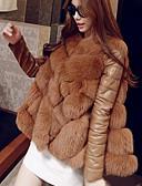 cheap Women's Fur Coats-Women's Simple Vest - Solid Colored