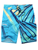 cheap Men's Swimwear-Men's Sporty Bottoms - Geometric Print Board Shorts
