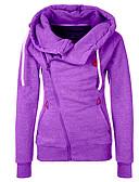 preiswerte Damen Kapuzenpullover & Sweatshirts-Damen Grundlegend Kapuzenshirt Einfarbig