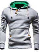 cheap Men's Hoodies & Sweatshirts-Men's Sports Weekend Active Slim Hoodie - Solid, Oversized Hooded