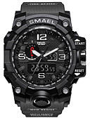 cheap Sport Watches-SMAEL Men's Sport Watch / Military Watch / Smartwatch Chinese Alarm / Calendar / date / day / Chronograph Silicone Band Charm / Casual / Camouflage Multi-Colored / Water Resistant / Water Proof
