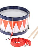 cheap Women's Dresses-Colorful Children Kids Toddler Drum Musical Toy Percussion Instrument with Drum Sticks Strap