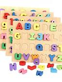 olcso Koszorúslány ruhák-Építőkockák Fejtörő Matematikai játékok Fejlesztő játék Szöveg Brojke Fa Lány Gyermek Ajándék
