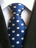 cheap Men's Ties & Bow Ties-Men's Work Basic Necktie - Polka Dot