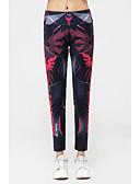 abordables Leggings para Mujer-Mujer Estampado / Deportivo Legging - Varios Colores, Estampado Media cintura