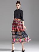 cheap Women's Dresses-ZIYI Women's A Line Skirts - Color Block, Print