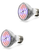 baratos Véus de Noiva-2pcs 7W 800-1200lm E14 GU10 E27 Lâmpada crescente 40 Contas LED SMD 5730 Branco Quente Branco Azul Vermelho 85-265V
