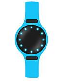 baratos Relógio Elegante-Homens Relógio Esportivo Relógio inteligente Relógio de Pulso Digital 30 m Impermeável Calendário Criativo PU Banda Digital Amuleto Luxo Rígida Cores Múltiplas - Preto Laranja Azul / Pedômetros