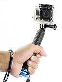 hesapli Erkek Kapşonluları ve Svetşörtleri-Telescopic Pole Tutucu Geri Çekilebilir İçin Aksiyon Kamerası Gopro 6 Hepsi Xiaomi Camera Dış Mekan %100 Standart yumuşak silikon ABS