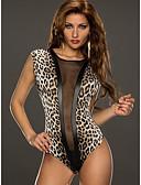 billige Nattøy til damer-Dame Sexy Ultrasexy / Dress Nattøy - Leopard