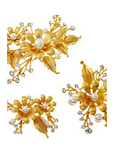 cheap Party Headpieces-Imitation Pearl / Rhinestone / Alloy Flowers / Hair Clip with 1 Wedding / Special Occasion / Birthday Headpiece