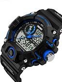preiswerte Exotische Uniformen-Smartwatch YYSKMEI1029 für Langes Standby / Wasserdicht / Multifunktion / Sport Stoppuhr / Wecker / Chronograph / Kalender / Duale Zeitzonen