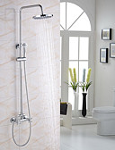 cheap Prom Dresses-Shower Faucet - Modern / Contemporary Chrome Shower System