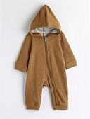 رخيصةأون ملابس الفتيات-قطع واحدة كم طويل لون الصلبة صبيان طفل