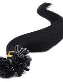 זול שעוני ילדים-Febay פיוז'ן\קצה U תוספות שיער אדם ישר תוספות שיער משיער אנושי שיער בתולי שיער ברזיאלי תוספות שיער ננו / Nano בגדי ריקוד נשים