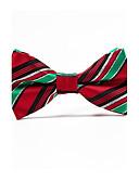 cheap Men's Ties & Bow Ties-Men's Stripes Bow Tie - Striped