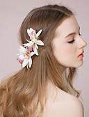 tanie Sukienki dla dziewczynek-Materiał Kwiaty / Czapki / Spinka do włosów z Kwiaty 1 szt. Ślub / Specjalne okazje Winieta