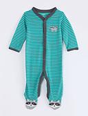 preiswerte Damen Hosen-Baby Jungen Gestreift Langarm Baumwolle Anzug & Overall
