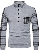 cheap Men's Blazers & Suits-Men's Street chic T-shirt - Striped Stand