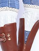billige Bukser og skjørt til damer-Dame Sokker Varm Jacquardvevnad Akryl, 1set Rød Mørkegrå Beige Kakifarget Lyseblå