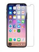 hesapli iPhone Kılıfları-AppleScreen ProtectoriPhone X Yüksek Tanımlama (HD) Ön Ekran Koruyucu 1 parça Temperli Cam
