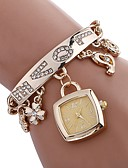 cheap Quartz Watches-Women's Bracelet Watch Chinese Water Resistant / Water Proof / Creative Stainless Steel Band Charm / Casual / Fashion Silver / Gold