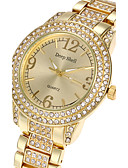 cheap Quartz Watches-Women's Wrist Watch Cool Alloy Band Luxury / Casual / Fashion Silver / Gold