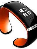 baratos Relógios Mecânicos-moda estilo l12s oled bluetooth pulseira relógio exibição leitor de música / anti - perda de função
