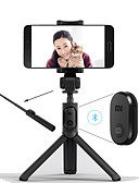 cheap Men's Ties & Bow Ties-Xiaomi Foldable Tripod Monopod Selfie Stick Bluetooth With Wireless Button Shutter Selfie Stick For iOS/Android/Xiaomi