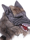 cheap Historical & Vintage Costumes-Halloween Mask Practical Joke Gadget Halloween Prop Masquerade Mask Animal Mask Novelty Wolf Head Horror Latex Rubber Pieces Unisex