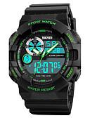 זול שעוני ספורט-SKMEI בגדי ריקוד גברים דיגיטלי שעון יד / שעונים צבאיים / שעוני ספורט Japanese Alarm / לוח שנה / כרונוגרף / עמיד במים / יצירתי / צג גדול /