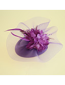 cheap Prom Dresses-Flannelette / Fabric Fascinators / Hats with 1 Wedding / Party / Evening Headpiece