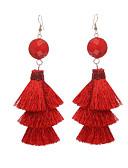 cheap Women's Dresses-Women's Drop Earrings / Hoop Earrings - Light Blue / Light Brown / Royal Blue For Gift / Date