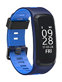 cheap Men's Shirts-Smart Bracelet Heart Rate Monitor Water Resistant / Water Proof Pedometers Blood Pressure Measurement Long Standby Multifunction