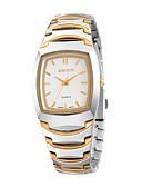 cheap Steel Band Watches-Men's Dress Watch Fashion Watch Wrist watch Quartz Alloy Band