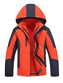 ieftine Îmbrăcăminte Bărbați de Exterior-Bărbați Jachete 3-în-1 În aer liber Iarnă Rezistent la Vânt Jachete 3-în-1 Topuri Fermoar Vizibil pe Întreaga Lungime Camping & Drumeții