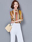 cheap Women's Shirts-Women's Sophisticated Shirt - Striped Stand